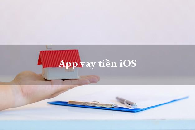 App vay tiền iOS