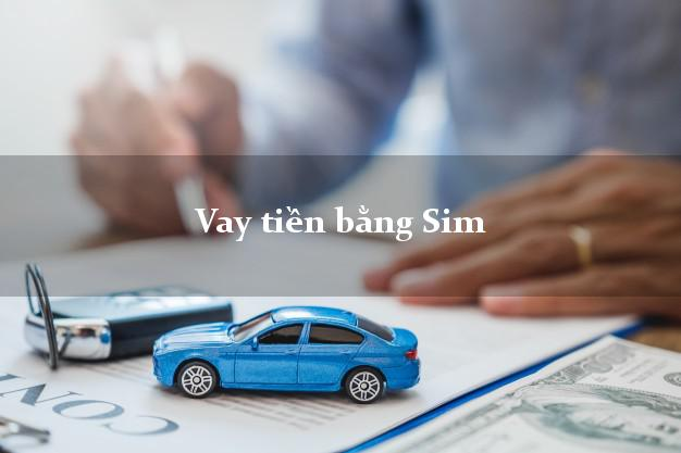 Vay tiền bằng Sim