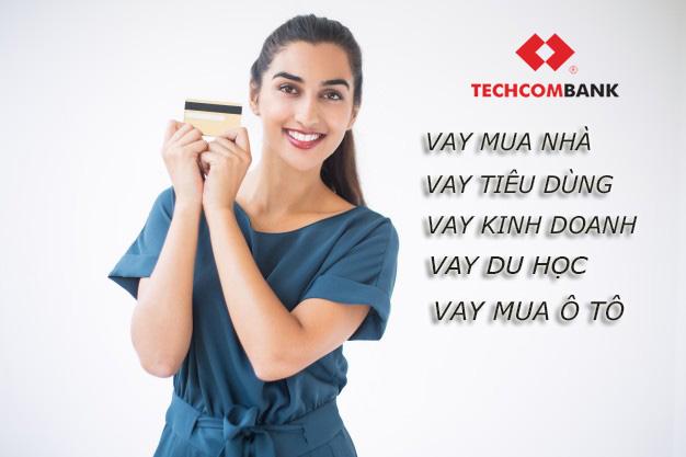 Hướng dẫn vay tiền Techcombank trực tuyến