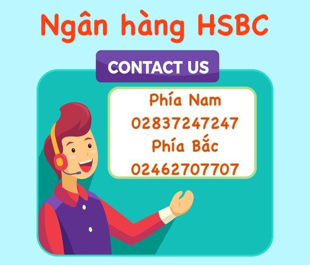 Hotline HSBC - Tổng đài ngân hàng HSBC mới nhất